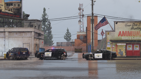 2 Bank Robbery Suspects barricaded themselves in Paleto