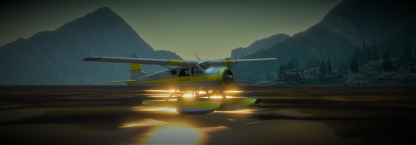 AIR-57 on the water