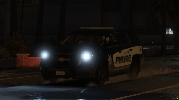 Night shift in the Tahoe