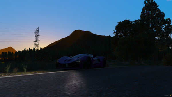 Purple + Sunset
